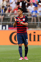 East Hartford, CT - Saturday July 01, 2017: Joe Corona during an international friendly match between the men's national teams of the United States (USA) and Ghana (GHA) at Pratt & Whitney Stadium at Rentschler Field.