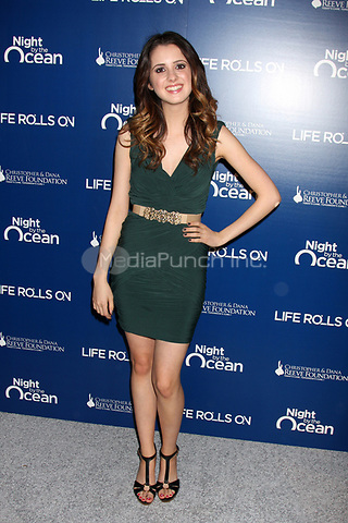MARINA DEL REY, CA - NOVEMBER 10: Laura Marano at The Life Rolls On Foundation's 9th Annual Night by the Ocean at the Ritz-Carlton Hotel on November 10, 2012 in Marina del Rey, California. Credit: mpi21/MediaPunch Inc.
