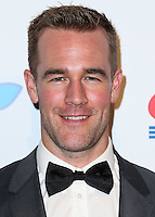 LOS ANGELES, CA, USA - OCTOBER 11: James Van Der Beek arrives at the Children's Hospital Los Angeles' Gala Noche De Ninos 2014 held at the L.A. Live Event Deck on October 11, 2014 in Los Angeles, California, United States. (Photo by Xavier Collin/Celebrity Monitor)