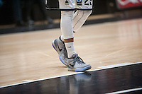 VALENCIA, SPAIN - JANUARY 6: Nike trainers during EUROCUP match between Valencia Basket and PAOK Thessaloniki at Fonteta Stadium on January 6, 2015 in Valencia, Spain