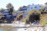 Victoria: Foul Bay looking toward former site of Paynter Residence. Photo '88.