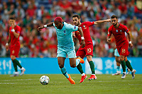 Ryan Babel of Netherlands and Bernardo Silva of Portugal during the UEFA Nations League Final match between Portugal and Netherlands at Estadio do Dragao on June 9th 2019 in Porto, Portugal. (Photo by Daniel Chesterton/phcimages.com)<br /> Finale <br /> Portogallo Olanda<br /> Photo PHC/Insidefoto <br /> ITALY ONLY