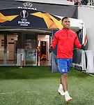 07.11.18 Rangers training at the Spartak Stadium, Moscow: Alfredo Morelos