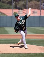 Brady Basso - Oakland Athletics 2021 spring training (Bill Mitchell)