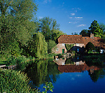 Great Britain, England, Hampshire, Stockbridge: Mill House | Grossbritannien, England, Hampshire, Stockbridge: Mill House