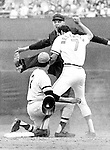 Baltimore Orioles and Pittsburgh Pirates 1971 World Series with the Pirates winning in seven games, Pirates Roberto Clemente earned the World Series MVP honors, Pirates Steve Blass pitching a complete game four-hitter in winning game 7, 2-1 against Mike Cuellar and the Orioles, Bruce Kison appeared in tow games with 6.1 innings pitched,