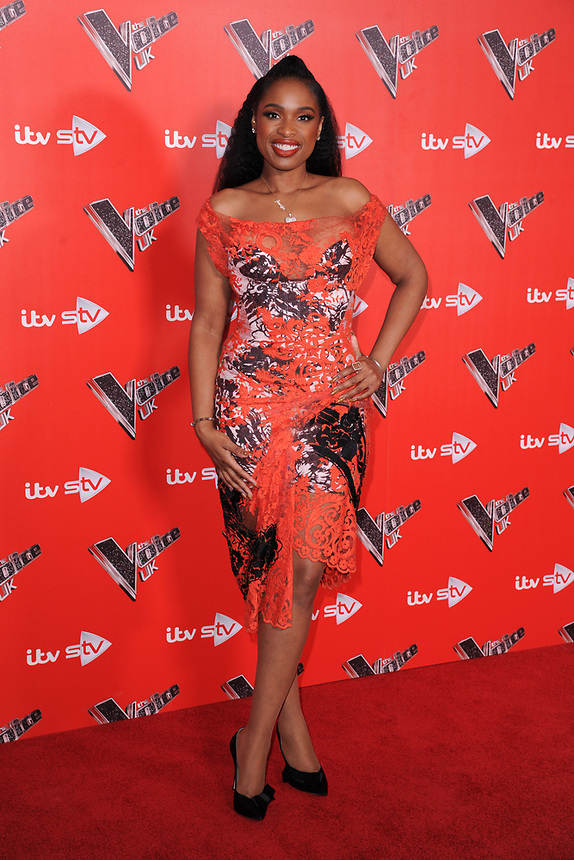 Jennifer Hudson<br /> at the photocall for The Voice UK 2018 launch at Ham Yard Hotel, London<br /> <br /> <br /> ©Ash Knotek  D3366  03/01/2018