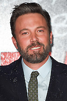 """Ben Affleck<br /> at the premiere of """"The Accountant"""" at the Empire Leicester Square, London.<br /> <br /> <br /> ©Ash Knotek  D3183  17/10/2016"""