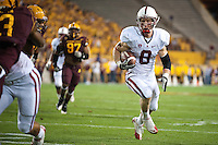 TEMPE, AZ - November 13, 2010: Ryan Whalen during a football game at Arizona State University in Tempe, Arizona. Stanford won 17-13.