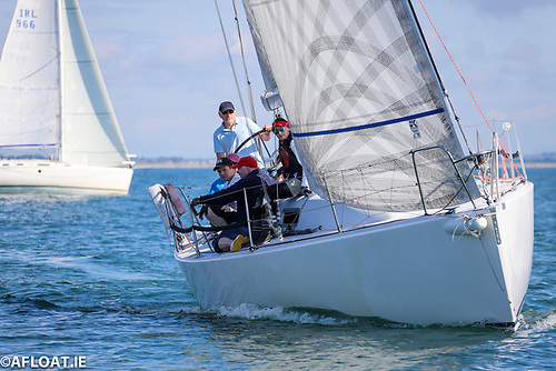 Simon Knowles's Howth J/J109 Indian was second overall