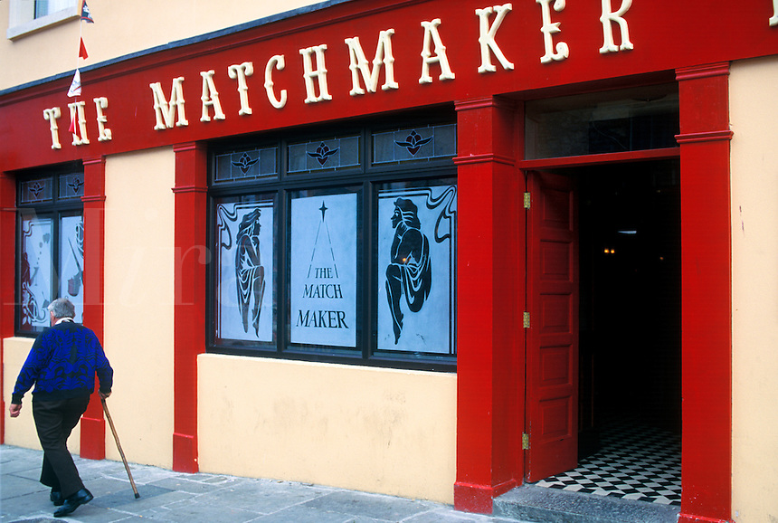 The Matchmaker pub in Listoonvarna, County Clare, Ireland. Home of the annual matchmaking festival that lasts throughout the month of September.