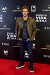 Alex Hafner attends to 'Como la Vida Misma' film premiere during the 'Madrid Premiere Week' at Callao City Lights cinema in Madrid, Spain. November 12, 2018. (ALTERPHOTOS/A. Perez Meca)