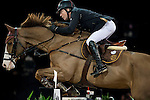 Michael Whitaker of United Kingdom rides Viking in action at the Longines Grand Prix during the Longines Hong Kong Masters 2015 at the AsiaWorld Expo on 15 February 2015 in Hong Kong, China. Photo by Juan Flor / Power Sport Images