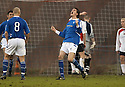 14/01/2006         Copyright Pic: James Stewart.File Name : sct_jspa10_clyde_v_stjohnstone.KEVIN JAMES CELEBRATES AFTER HE HEADS HOME ST JOHNSTONE'S THIRD GOAL....Payments to :.James Stewart Photo Agency 19 Carronlea Drive, Falkirk. FK2 8DN      Vat Reg No. 607 6932 25.Office     : +44 (0)1324 570906     .Mobile   : +44 (0)7721 416997.Fax         : +44 (0)1324 570906.E-mail  :  jim@jspa.co.uk.If you require further information then contact Jim Stewart on any of the numbers above.........