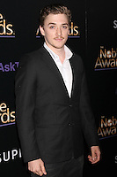 BEVERLY HILLS, CA - FEBRUARY 27: Kyle Gallner at the 3rd Annual Noble Awards at the  Beverly Hilton Hotel in Beverly Hills, California on February 27, 2015. Credit: David Edwards/DailyCeleb/MediaPunch