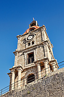 Roloi - The Clock Tower of Rhodes, Greece