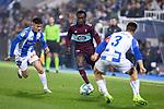 CD Leganes's  Oscar Rodriguez Arnaiz (L) and RC Celta de Vigo's Pione Sisto and David Costas during La Liga match 2019/2020 round 16<br /> December 8, 2019. <br /> (ALTERPHOTOS/David Jar)