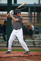 Joseph Ammirato (9) of Bellarmine College Prep High School in San Jose, California during the Under Armour All-American Pre-Season Tournament presented by Baseball Factory on January 14, 2017 at Sloan Park in Mesa, Arizona.  (Art Foxall/MJP/Four Seam Images)