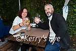 Enjoying the evening in Croi on Thursday, l to r: Martina and Brendan Murphy.