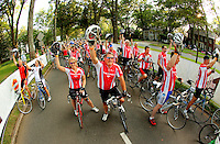 "Approximately 1,200 bicycle riders raised more than $1 million when they rode 24 hours straight during the 2010 ""24 Hours of Booty"" Charlotte event in July 2010. The annual event, held in Charlotte's Myers Park neighborhood, raises money for cancer research."
