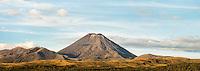 Mount Ngaruhoe, Tongariro National Park, Central Plateau, Ruapehu Region, North Island, UNESCO World Heritage Area, New Zealand, NZ
