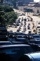 Traffic coming towards camera<br />