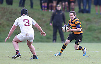 RBAI vs R S ARMAGH | Saturday 21st February 2015<br /> <br /> Michael Lowry during 2015 Ulster Schools Cup Quarter-Final between RBAI and Royal School Armagh at Osborne Park, Belfast, Northern Ireland.<br /> <br /> Picture credit: John Dickson / DICKSONDIGITAL