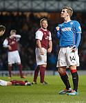 David Templeton celebrates his goal for Rangers