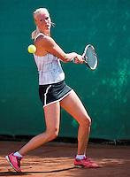 August 12, 2014, Netherlands, Raalte, TV Ramele, Tennis, National Championships, NRTK,  Charlotte van der Meij (NED)<br /> Photo: Tennisimages/Henk Koster