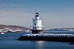Spring Point Ledge Light, Casco Bay, South Portland, ME, USA