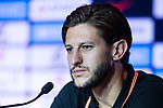 Liverpool FC Midfielder Adam Lallana speaks to the media during a Premier League Asia Trophy Press Conference at Grand Hyatt Hotel on July 21, 2017 in Hong Kong, China. Photo by Marcio Rodrigo Machado / Power Sport Images