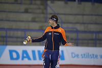 SPEEDSKATING: Calgary, The Olympic Oval, 08-02-2020, ISU World Cup Speed Skating, 5000m Men Division B, Sven Kramer (NED) is na 3000m gestopt, ©foto Martin de Jong