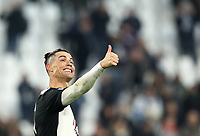 Calcio, Serie A: Juventus - Cagliari, Turin, Allianz Stadium, January 6, 2020.<br /> Juventus' Cristiano Ronaldo celebrates after winning 4-0 the Italian Serie A football match between Juventus and Cagliari at Torino's Allianz stadium, on January 6, 2020.<br /> UPDATE IMAGES PRESS/Isabella Bonotto