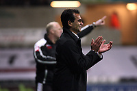 Pictured: Roberto Martínez Manager of Swansea City <br /> Re: Coca Cola Championship, Swansea City Football Club v Queens Park Rangers at the Liberty Stadium, Swansea, south Wales 21st October 2008.