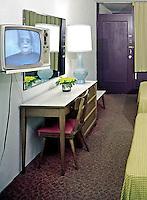 24th Street Motel, North Wildwood, New Jersey,  1960's motel room