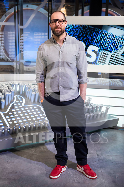 "Alberto Rey during the presentation of the new TV program to Movistar+,  "" Likes "" at 7 y accion studios in Madrid. January 27, 2016.<br /> (ALTERPHOTOS/BorjaB.Hojas)"
