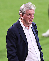 15th September 2020; Vitality Stadium, Bournemouth, Dorset, England; English Football League Cup, Carabao Cup Football, Bournemouth Athletic versus Crystal Palace; Roy Hodgson Manager of Crystal Palace watches as one of his team receives injury treatment