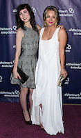 """BEVERLY HILLS, CA, USA - MARCH 26: Briana Cuoco, Kaley Cuoco at the 22nd """"A Night At Sardi's"""" To Benefit The Alzheimer's Association held at the Beverly Hilton Hotel on March 26, 2014 in Beverly Hills, California, United States. (Photo by Xavier Collin/Celebrity Monitor)"""
