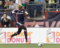 New England Revolution forward Saer Sene (39) on a scoring run. In a Major League Soccer (MLS) match, the New England Revolution tied Houston Dynamo, 2-2, at Gillette Stadium on May 19, 2012.