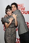 """Isabelle Fuhrman and Alex Wolff attends the Opening Night of The New Group World Premiere of """"All The Fine Boys"""" at the The Green Fig Urban Eatery on March 1, 2017 in New York City."""