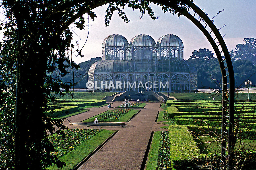 Parque Jardim Botânico de Curitiba. Paraná. 2001. Foto de Juca Martins.