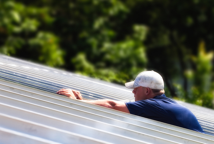This unique rail system by Pennsylvania's own PV Racking LLC greatly reduces the time and labor involved in installing solar panels. - Bucks Country Gardens - Moore Energy - PV Racking
