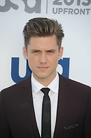 NEW YORK, NY - MAY 16:  Aaron Tveit attends the USA Network 2013 Upfront event at Pier 36 on May 16, 2013 in New York City. <br /> <br /> People:  Aaron Tveit