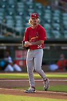 Palm Beach Cardinals pitcher Levi Prater (32) during a game against the Jupiter Hammerheads on May 11, 2021 at Roger Dean Chevrolet Stadium in Jupiter, Florida.  (Mike Janes/Four Seam Images)
