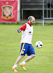 Spain's Andres Iniesta during preparing training stage to Euro 2016. May 30,2016.(ALTERPHOTOS/Acero)
