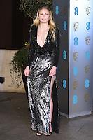 Sophie Turner<br /> at the 2017 BAFTA Film Awards After-Party held at the Grosvenor House Hotel, London.<br /> <br /> <br /> ©Ash Knotek  D3226  12/02/2017