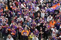 Fans der Frankfurt Galaxy auf dem Frankfurter Roemerberg