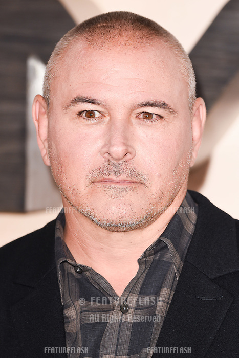 "LONDON, UK. October 17, 2019: Tim Miller at the ""Terminator: Dark Fate"" photocall, London.<br /> Picture: Steve Vas/Featureflash"