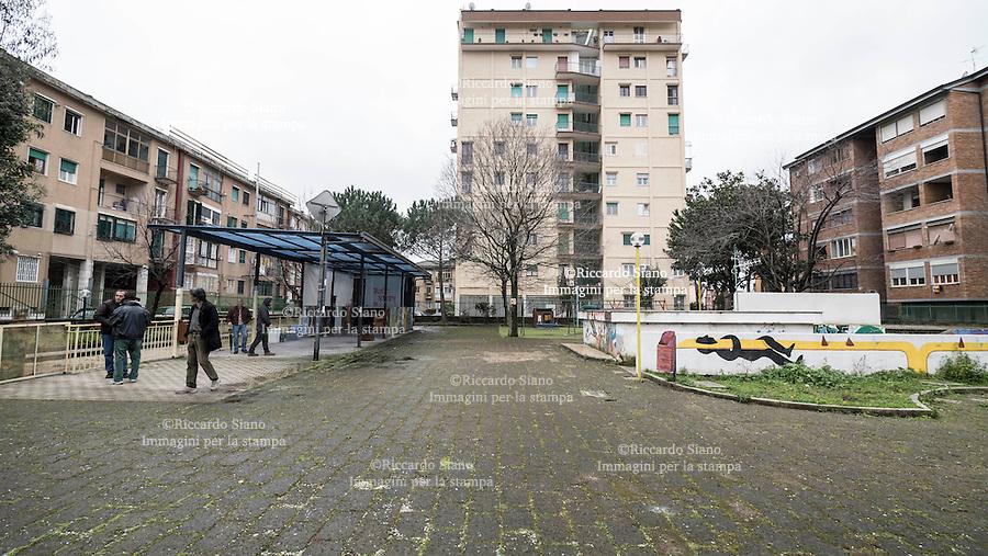 - NAPOLI 24 FEB -  Soccavo il parco autogestito Don Andrea Gallo.