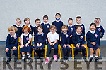 Junior infants from Miss Galvin's class in Aughacasla NS.